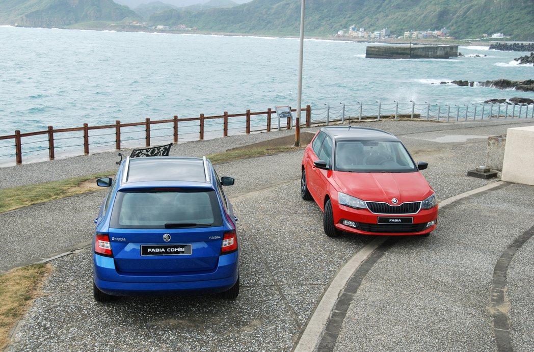 Fabia Combi 車型還可選配全景式玻璃車頂。 記者林鼎智/攝影