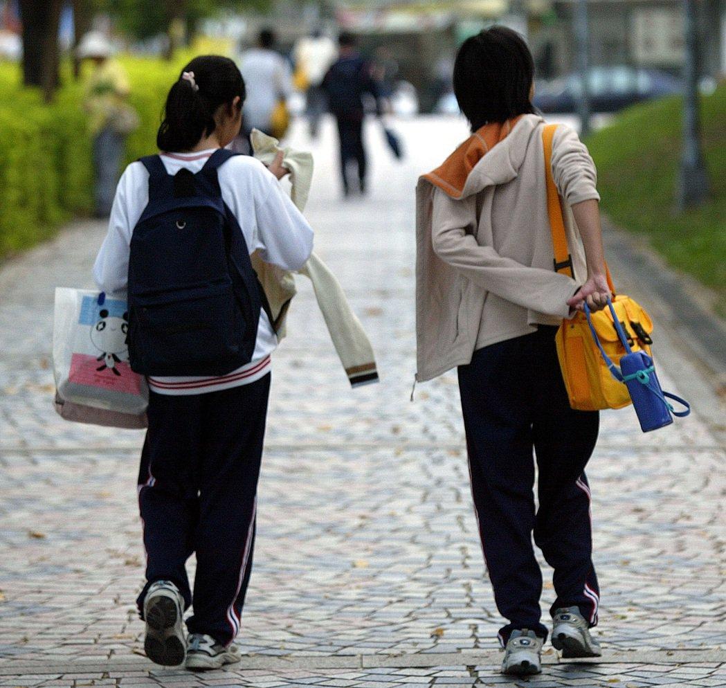 國中學子。聯合報系資料照/記者潘俊宏攝影