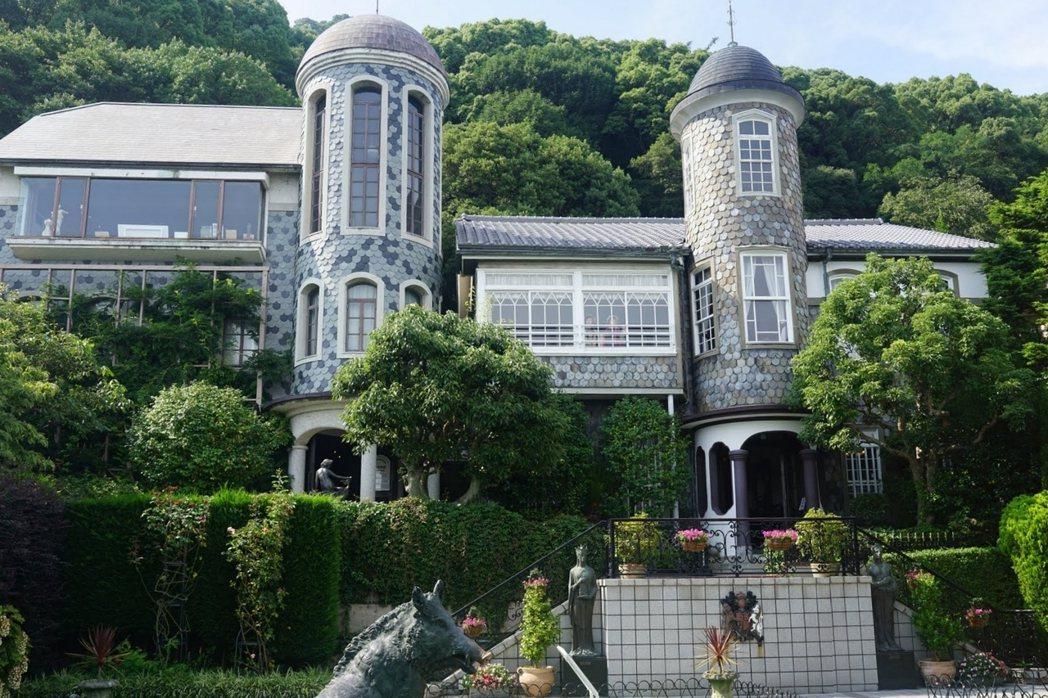 日本神戶北野異人館「魚鱗之家」。 圖/作者提供