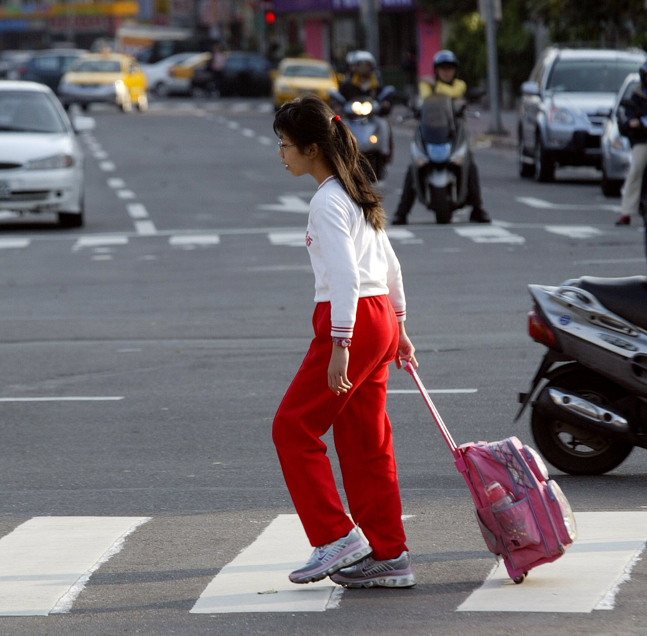 學子有升學壓力。聯合報系資料照/記者潘俊宏攝影