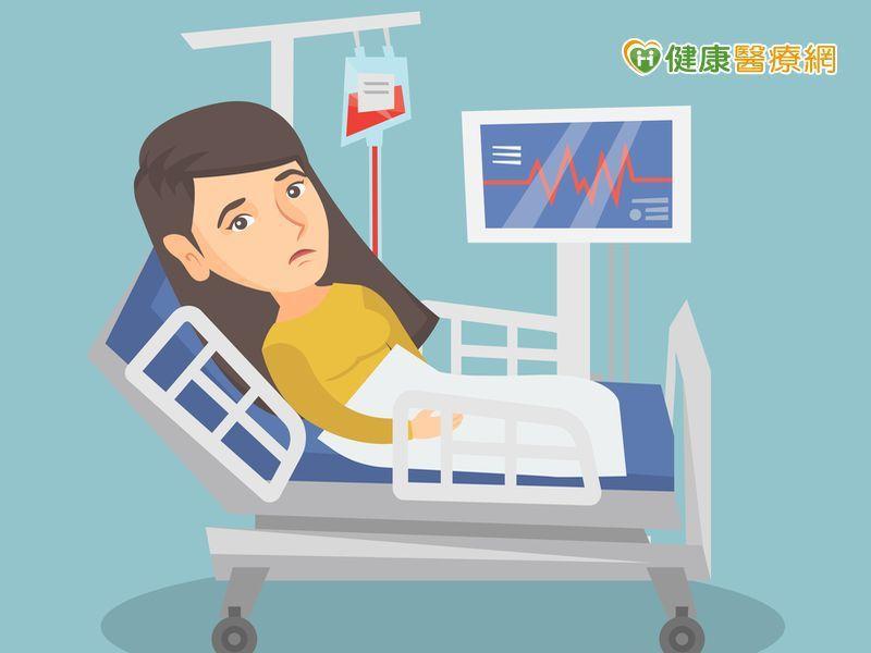 經期來潮就要輸血 竟是8公分子宮肌瘤引起