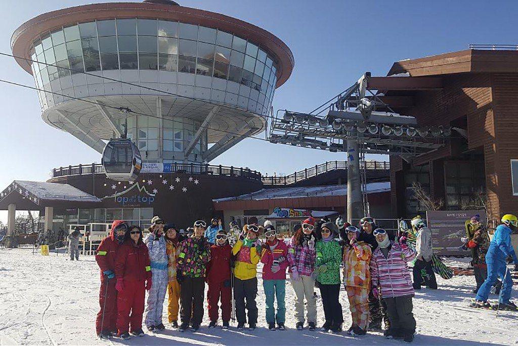 韓國滑雪推薦-江原道HIGH ONE|圖片來源:Tripbaa趣吧!達人帶路