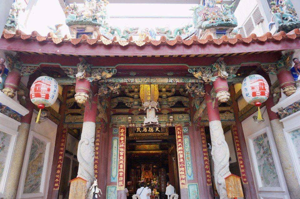 開基天后宮是台灣本島第一座媽祖廟。(攝影/林郁姍)