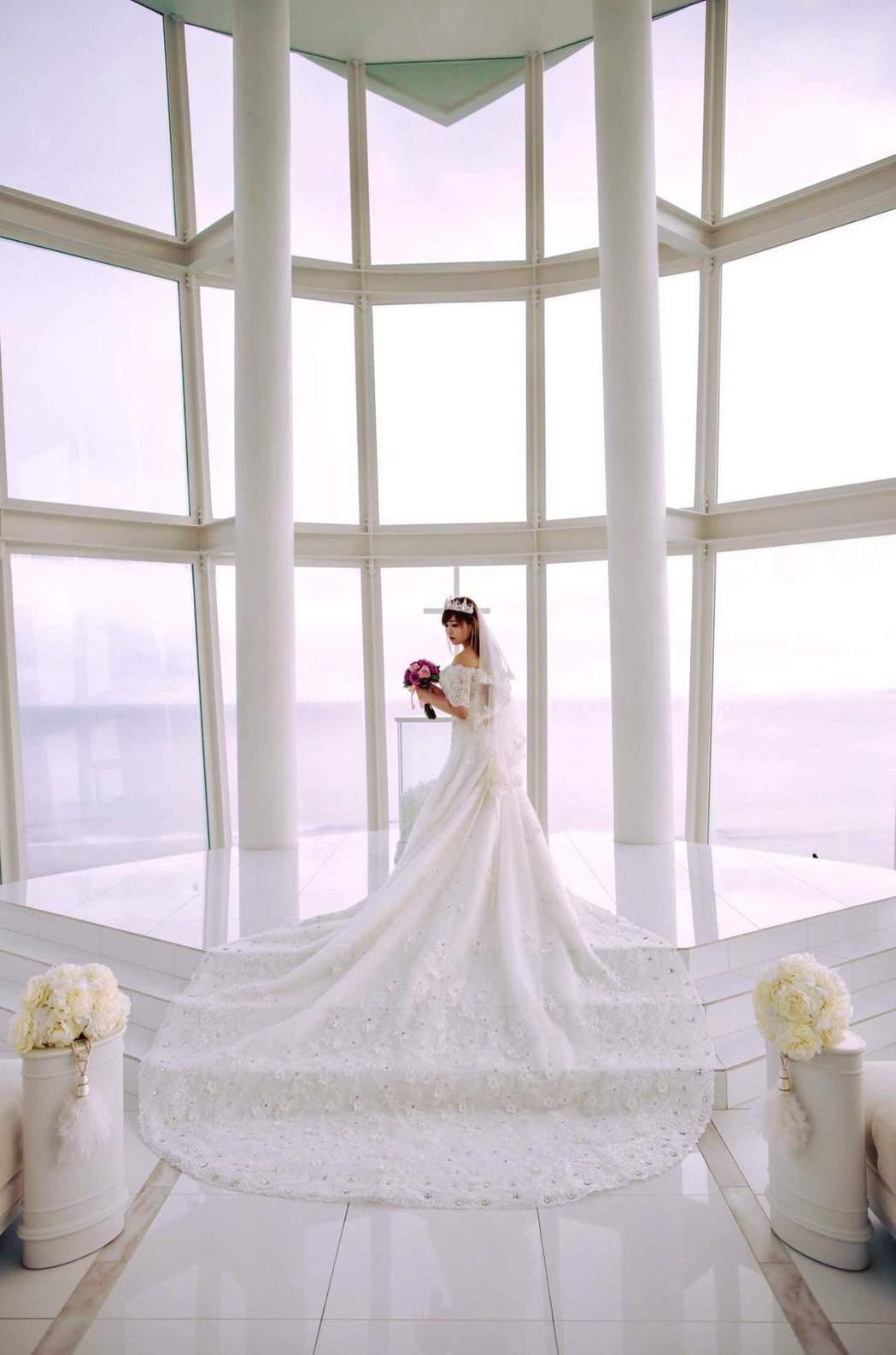 小小瑜在美國完婚。圖/摘自小小瑜臉書