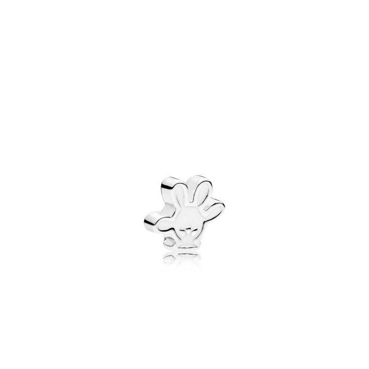 米奇手套 925銀琺瑯小配飾,880元。圖/PANDORA提供