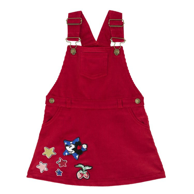 Cath Kidston X Mickey and Friends兒童紅色吊帶...