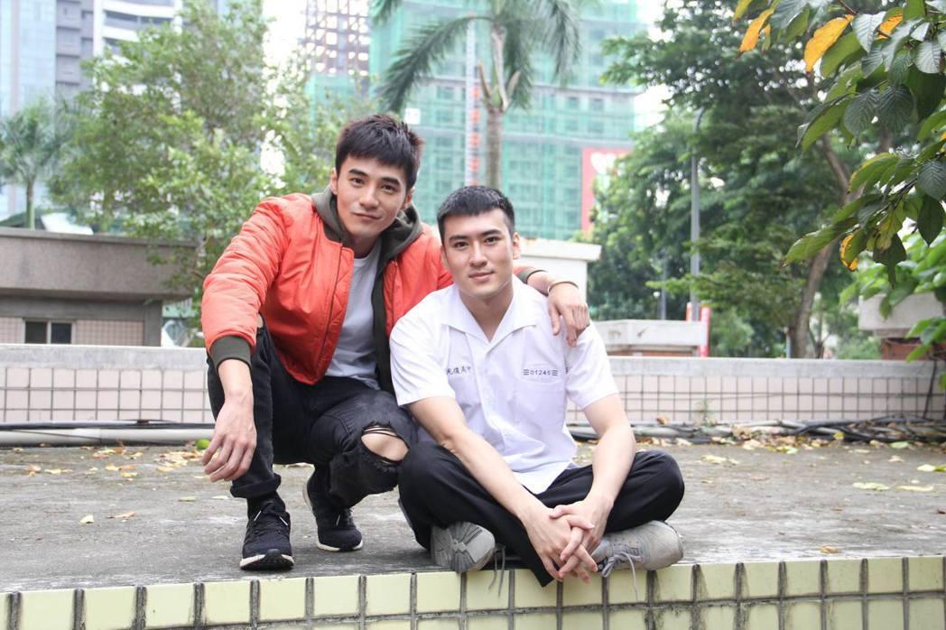 沈建宏(右)和是元介睽違12年後再合作。圖/中天提供