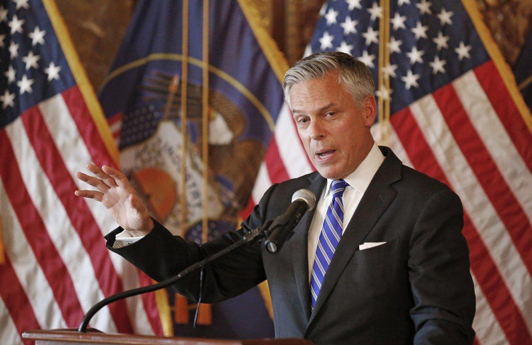 新任美國駐俄大使、前駐中國大使洪博培,有意出售他位於維吉尼亞州的豪宅。(美聯社)