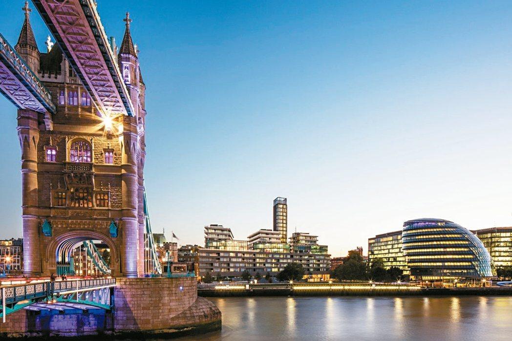 倫敦辦公室單季去化量達約19.6萬坪,相較於脫歐前成長27.5%,且為2006年...