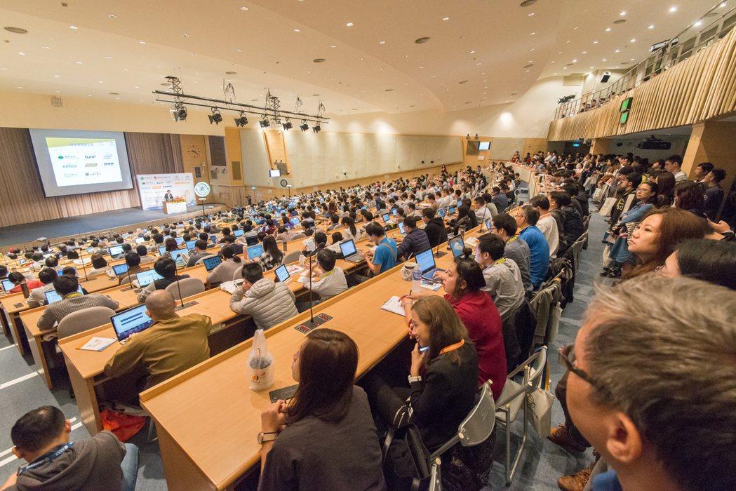 台灣人工智慧年會開幕現場。 台灣人工智慧年會/提供。