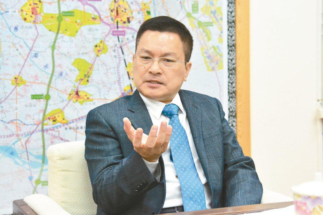 彰化縣長魏明谷曾拋出鄉鎮市長比照六都區長改為官派。 圖/報系資料照片