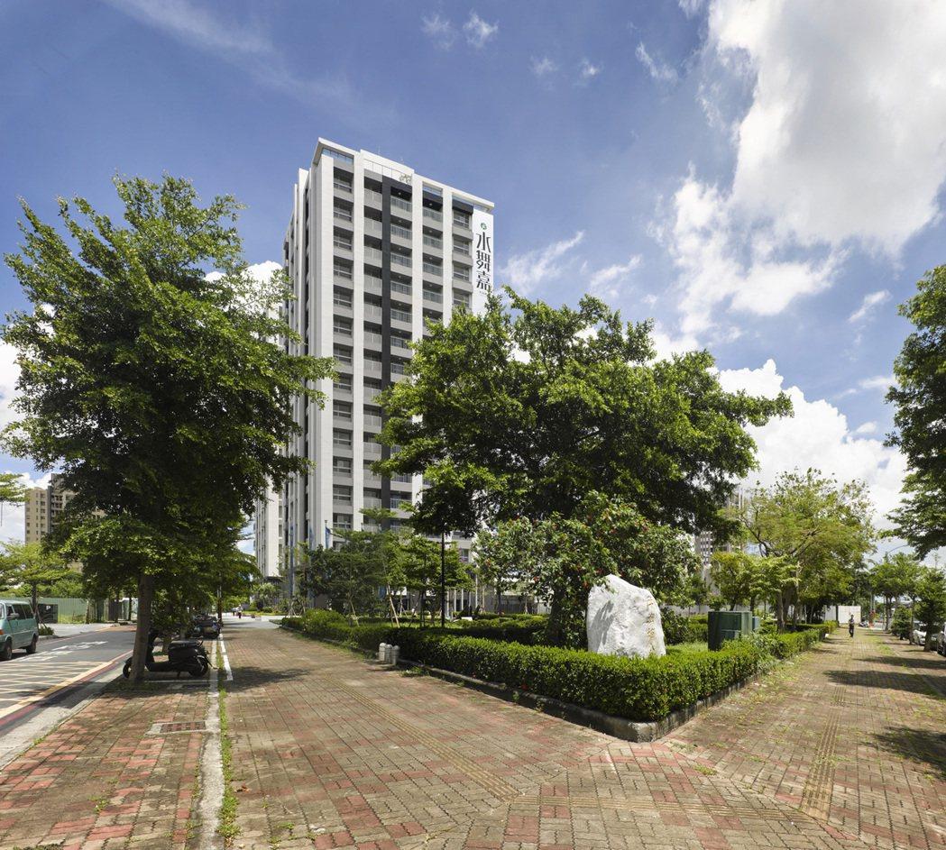 「水舞嘉」基地位置在華鳳特區。 圖片提供/泰嘉開發