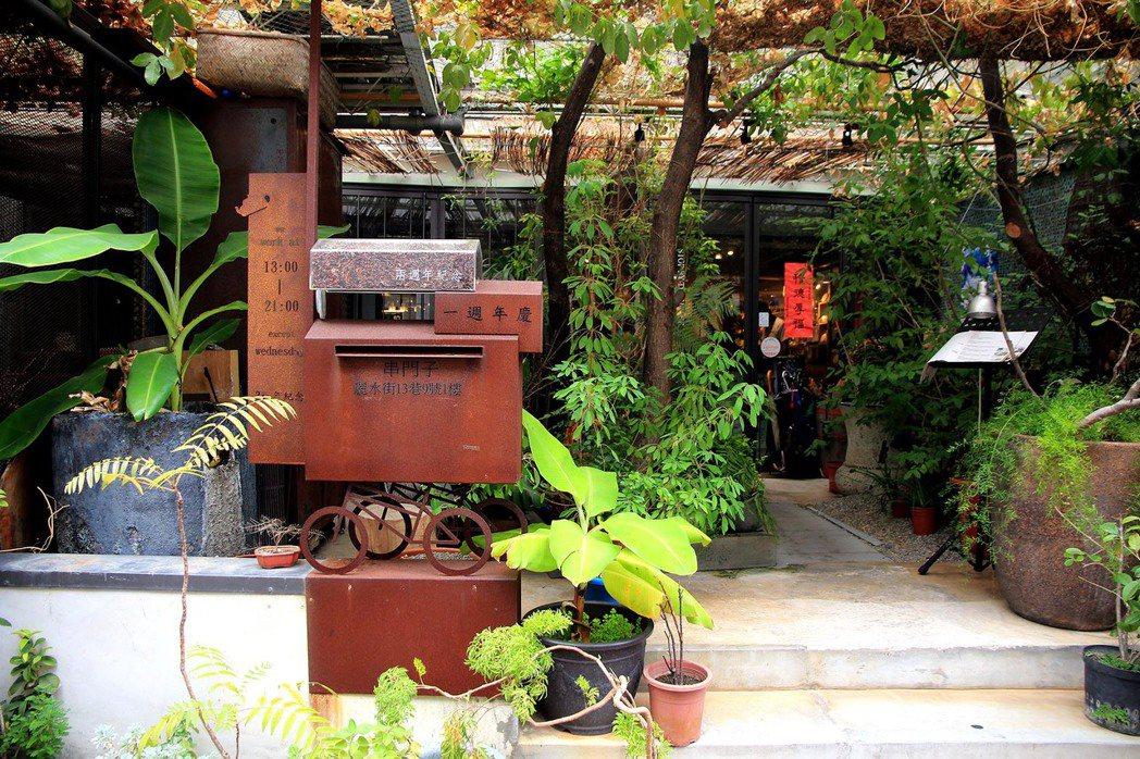 台北市麗水街茶館聚集,處處都是喝茶秘境。
