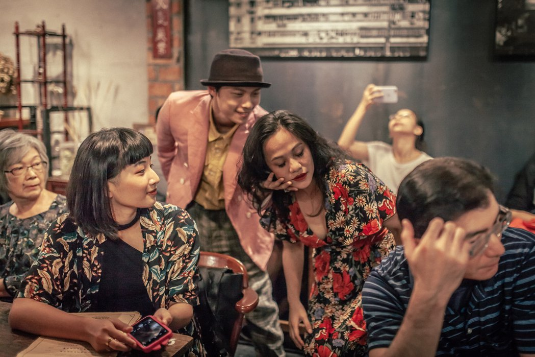「藝術擴散計畫」二部曲:咖啡館的跳舞時光。 攝影/汪正翔