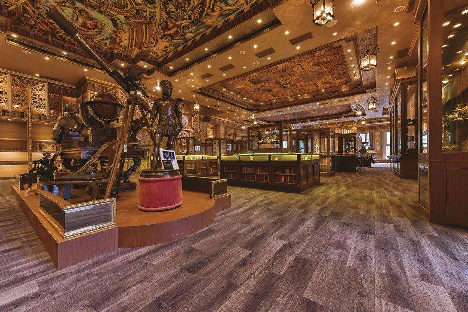 展示了20大西洋古董主題收藏文物的「新天地西洋博物館」。(圖片來源/新天地西洋博...