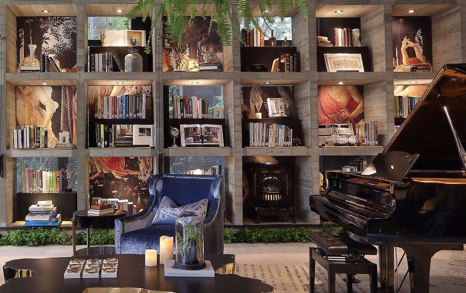 「樂樂書屋」設計感十足的閱讀空間。(圖片來源/樂樂書屋FB粉絲團)