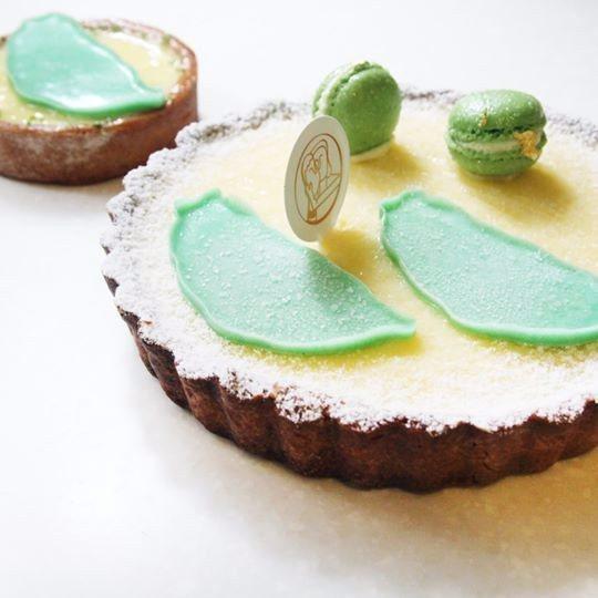 寶島檸檬塔是「夫妻臉甜點店」的招牌之一(圖片來源/夫妻臉FB粉絲團)