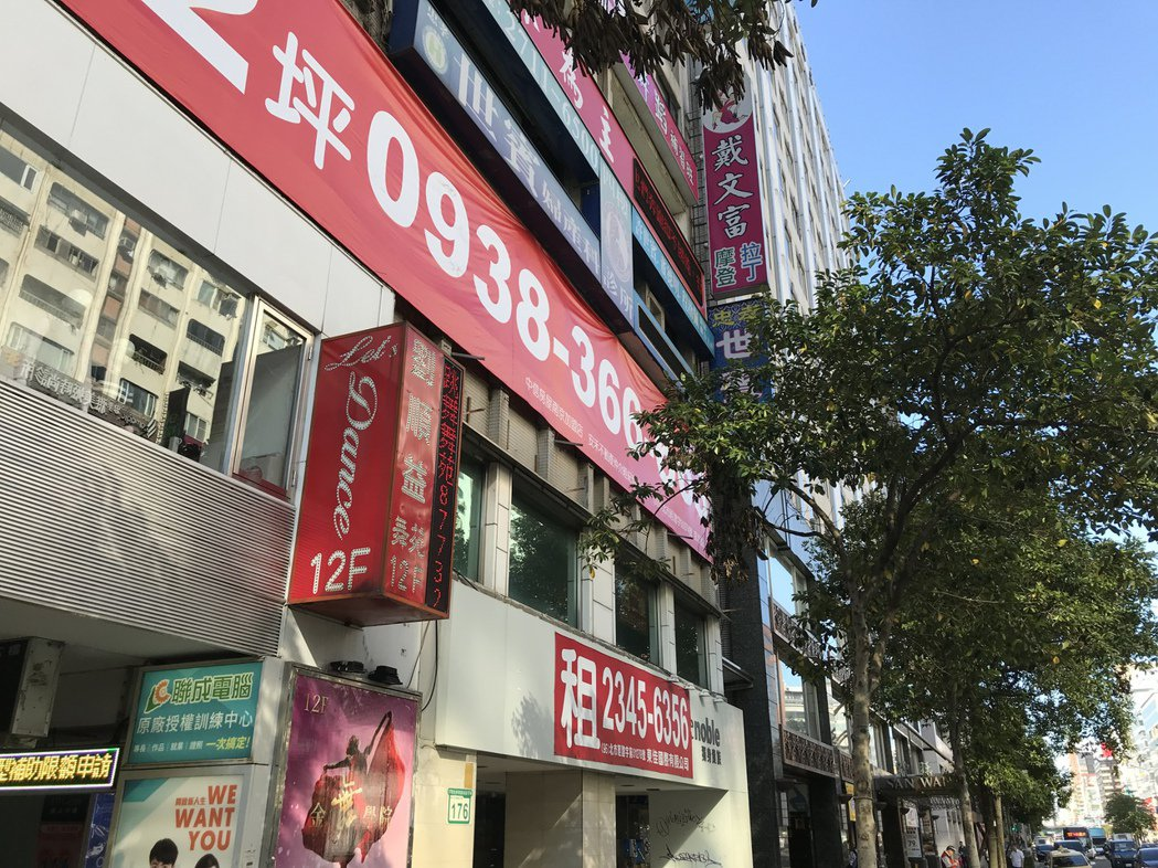 東區店面招租 記者游智文/攝影