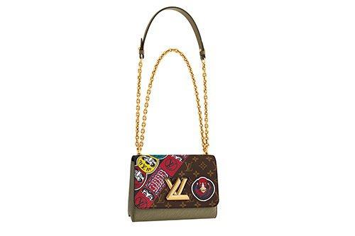 TWIST Kabuki MM手袋,售價12萬9,000元。圖/LV提供
