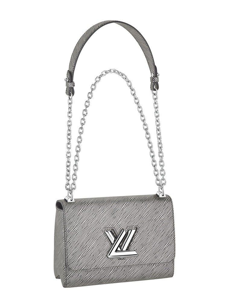 TWIST MM銀灰色手袋,12萬6,000元。圖/LV提供