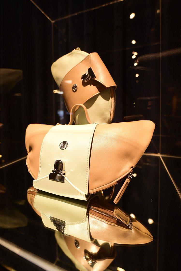 台灣設計師何佳潓Illiza Ho設計的包款。圖/樂樂書屋提供