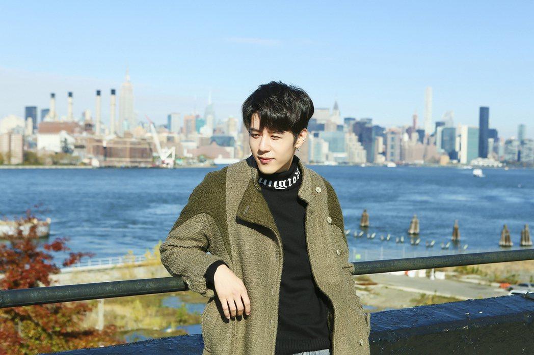 胡宇威終於圓了到紐約工作順便回家的夢想。圖/寶麗來提供