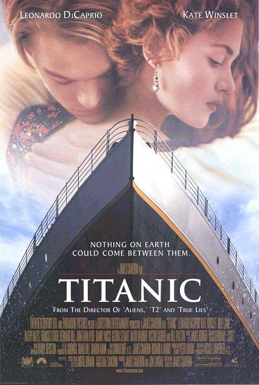 「鐵達尼號」成本創紀錄,票房卻更驚人。圖/摘自imdb