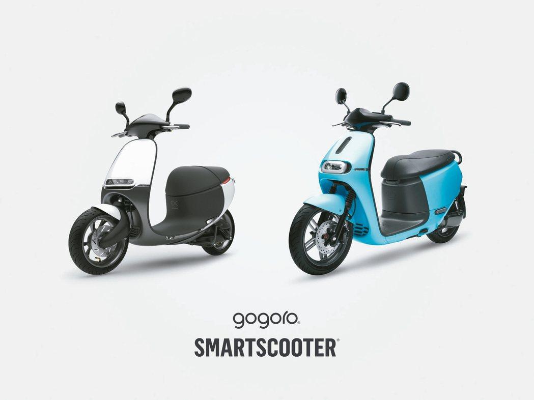 圖為2018年新款Gogoro 1。 Gogoro/提供