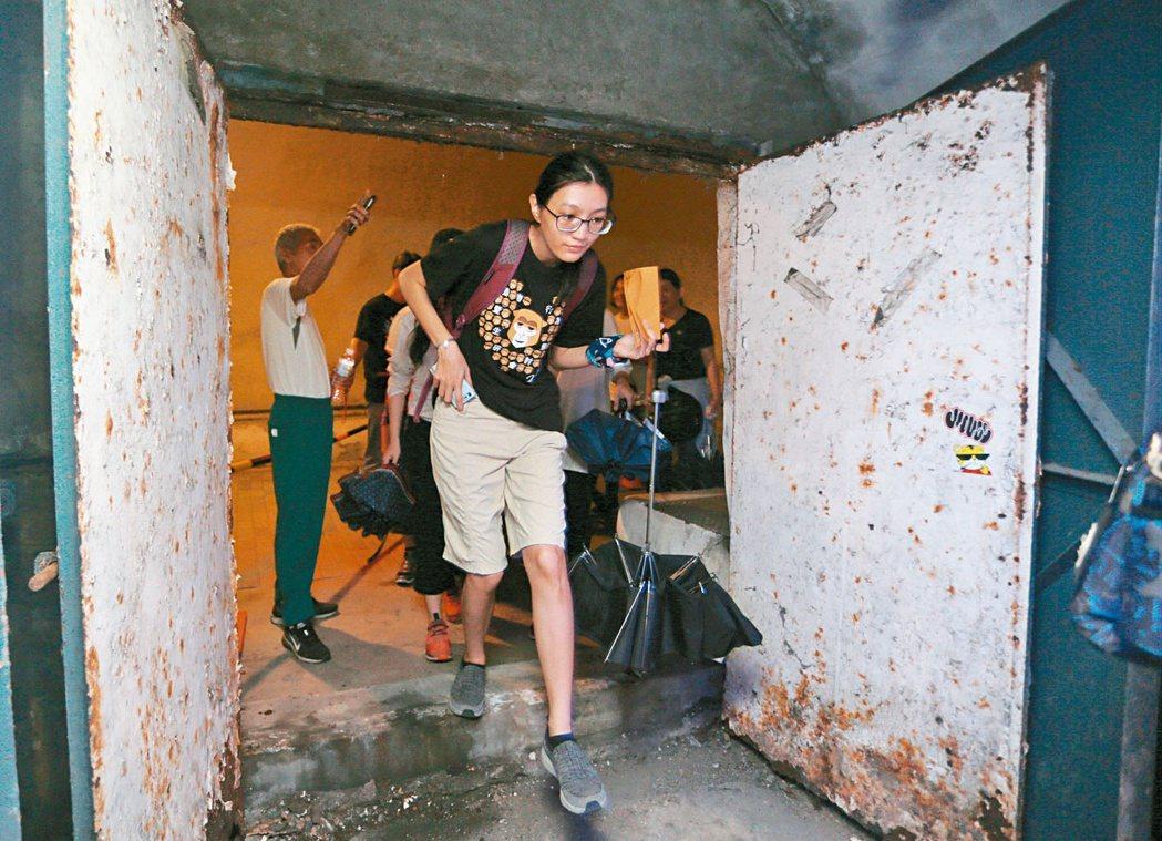 西子灣隧道保存十分完好。記者劉學聖/攝影