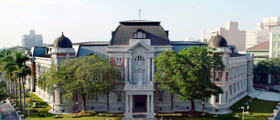 國立台灣文學館。(圖/國立台灣文學館FB)