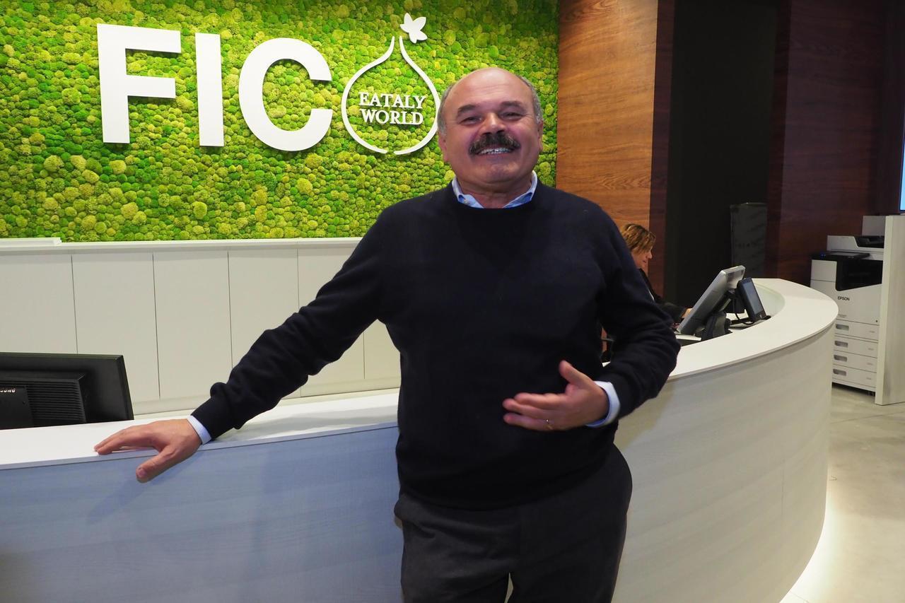 義大利高級食品超市Eataly的老闆法利內提是「FICO Eataly Worl...