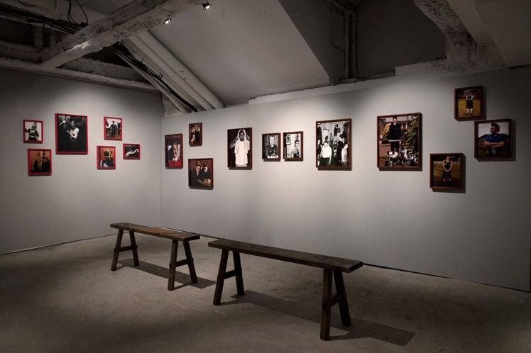 BURBERRY香港「Here We Are」攝影展。圖/BURBERRY提供
