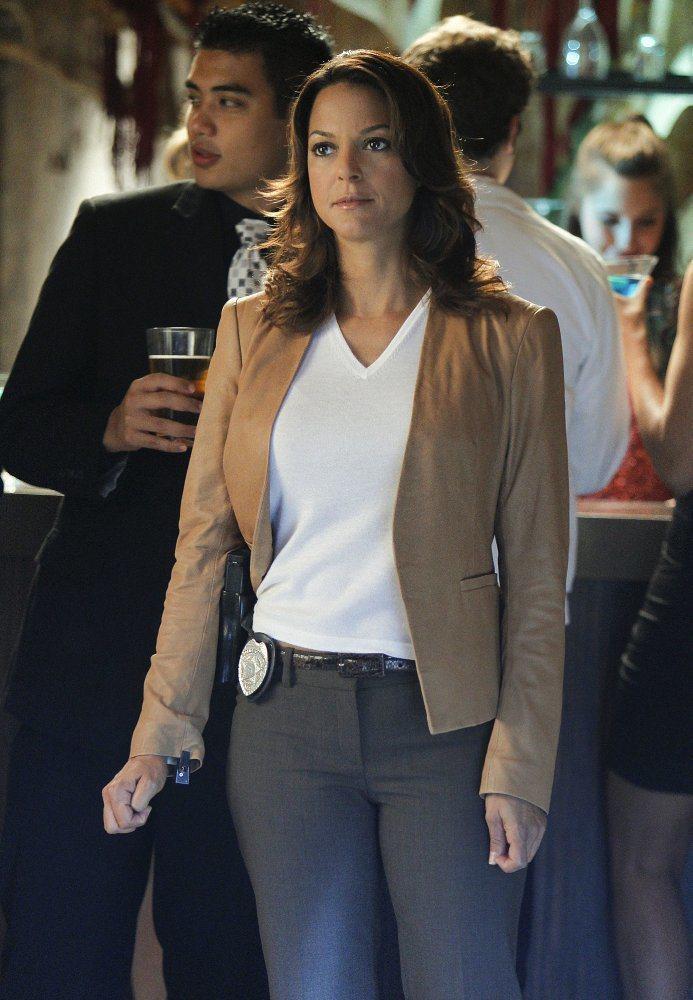 伊娃拉魯曾是「CSI犯罪現場:邁阿密」固定班底。圖/摘自imdb