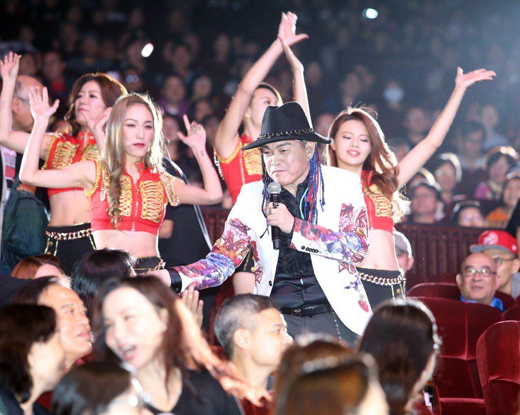 康康舉辦出道20年我要謝謝你演唱會。記者陳瑞源/攝影