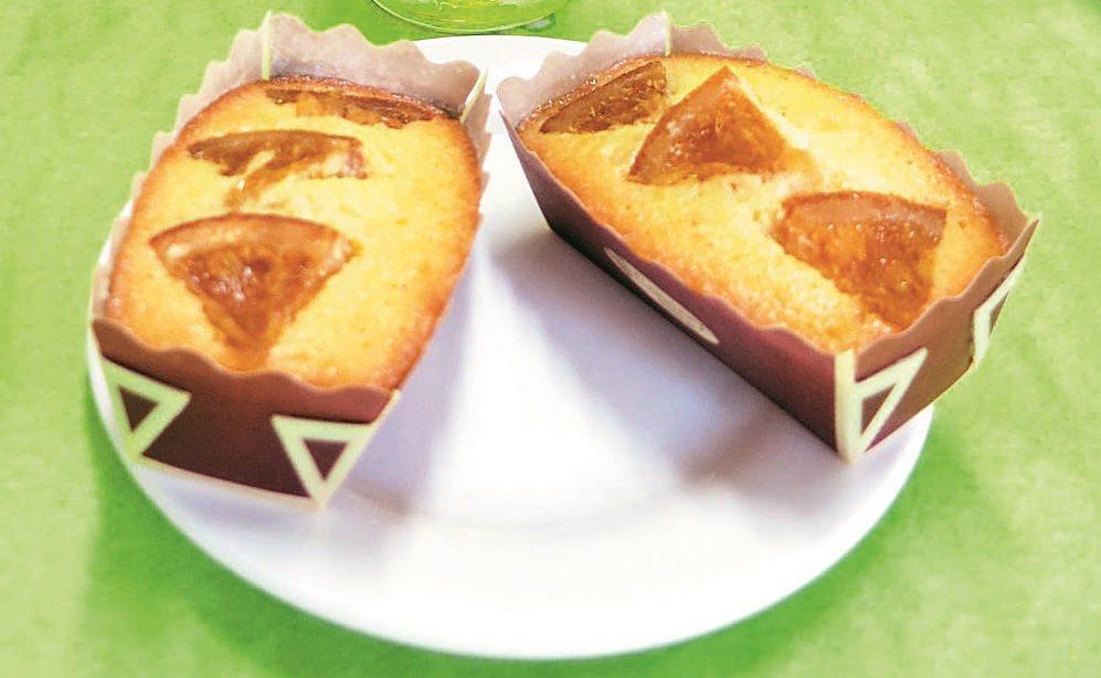 橙香蛋糕 照片/日新工商餐旅系提供