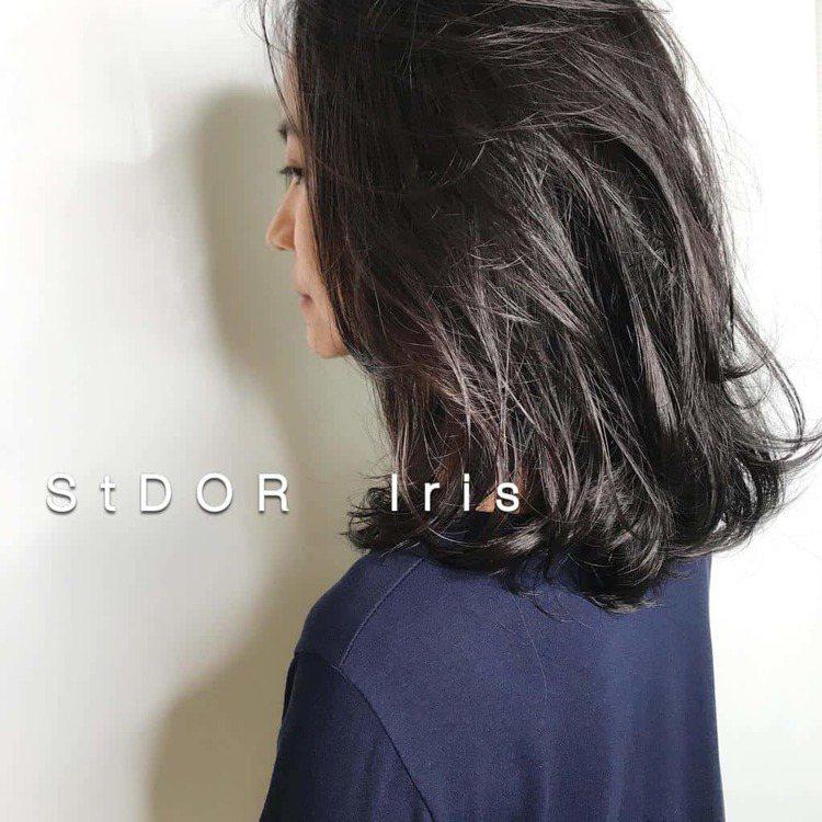 髮型創作/Iris。圖/HairMap美髮地圖提供