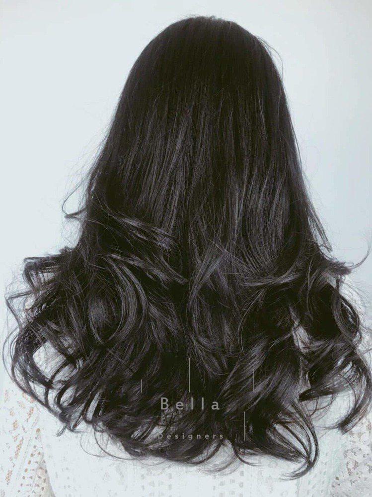 髮型創作/貝拉拉。圖/HairMap美髮地圖提供