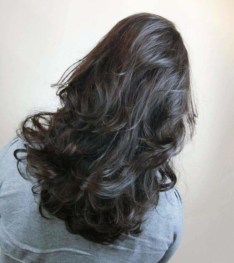髮型創作/余靆蔆。圖/HairMap美髮地圖提供