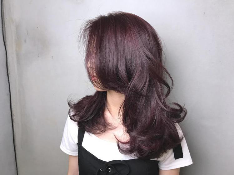 髮型創作/緯震(Eric)。圖/HairMap美髮地圖提供