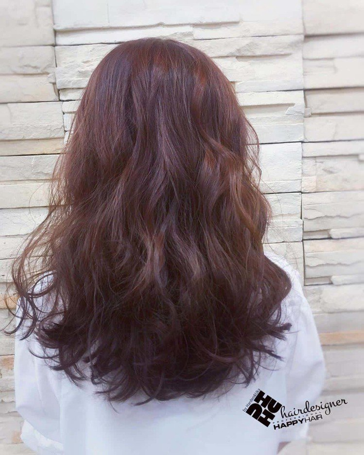 髮型創作/蔡虎牙。圖/HairMap美髮地圖提供