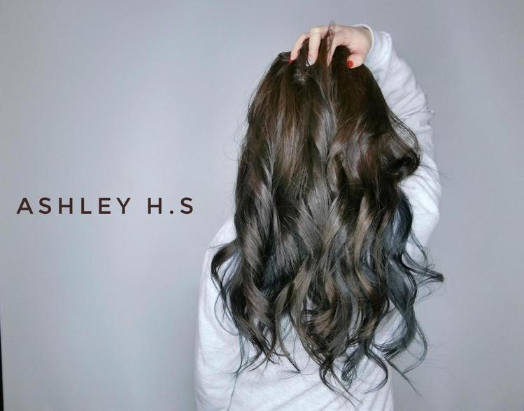 髮型創作/Ashley Wang(雪莉)。圖/HairMap美髮地圖提供