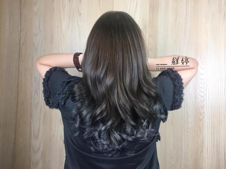 髮型創作/鮮婷。圖/HairMap美髮地圖提供