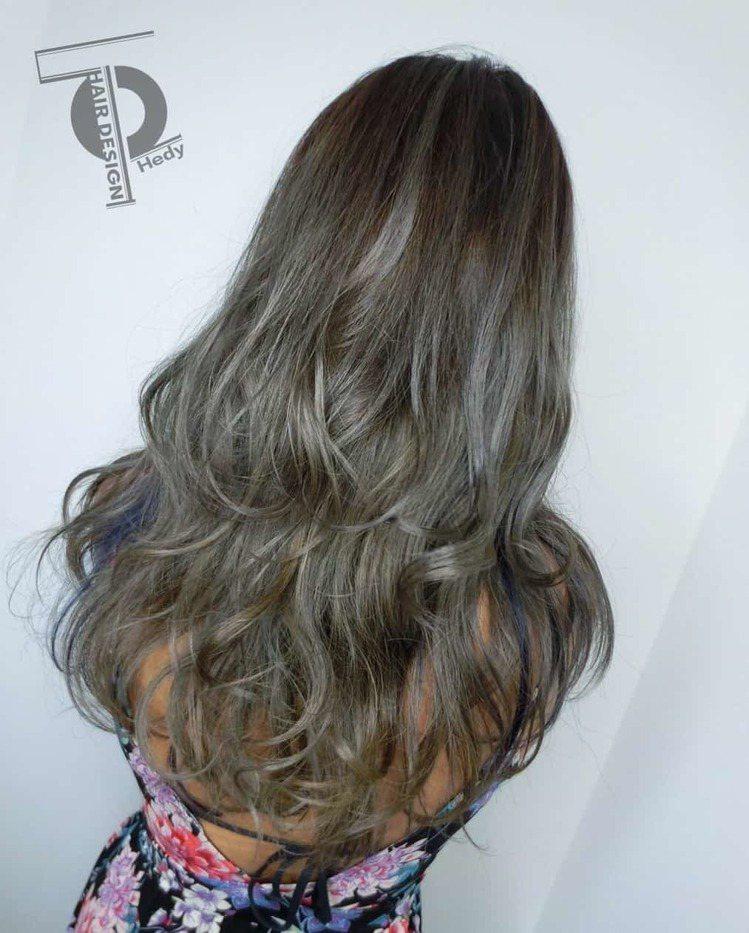 髮型創作/Hedy。圖/HairMap美髮地圖提供