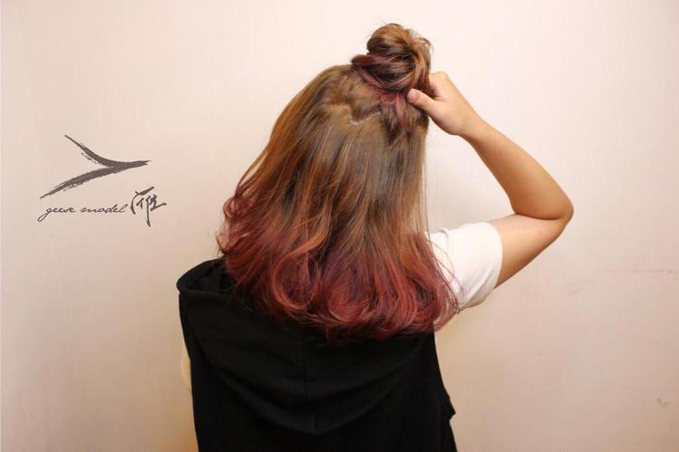 髮型創作/Aria。圖/HairMap美髮地圖提供