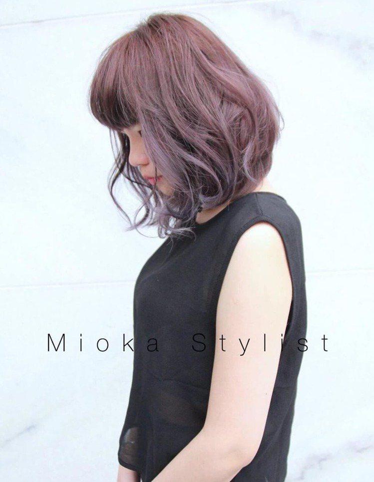 髮型創作/Mi oka。圖/HairMap美髮地圖提供