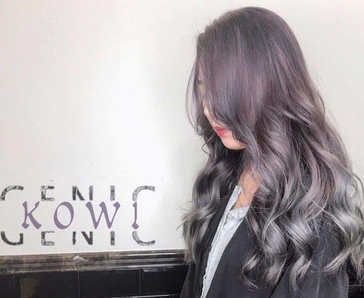 髮型創作/Kowi。圖/HairMap美髮地圖提供