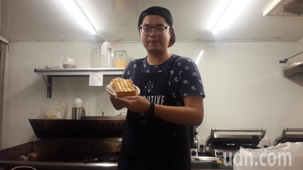 工程師換跑道當主廚 鐘敬凱快餐車分享三明治美食