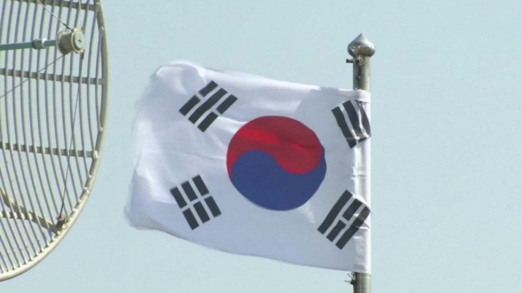圖為南韓國旗。圖/聯合報系資料照片