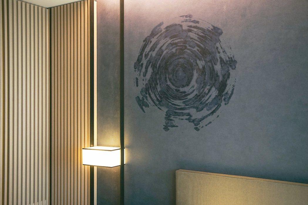 礁溪寒沐酒店客房情境照「自虛空中迴旋而來 」。 圖/寒舍