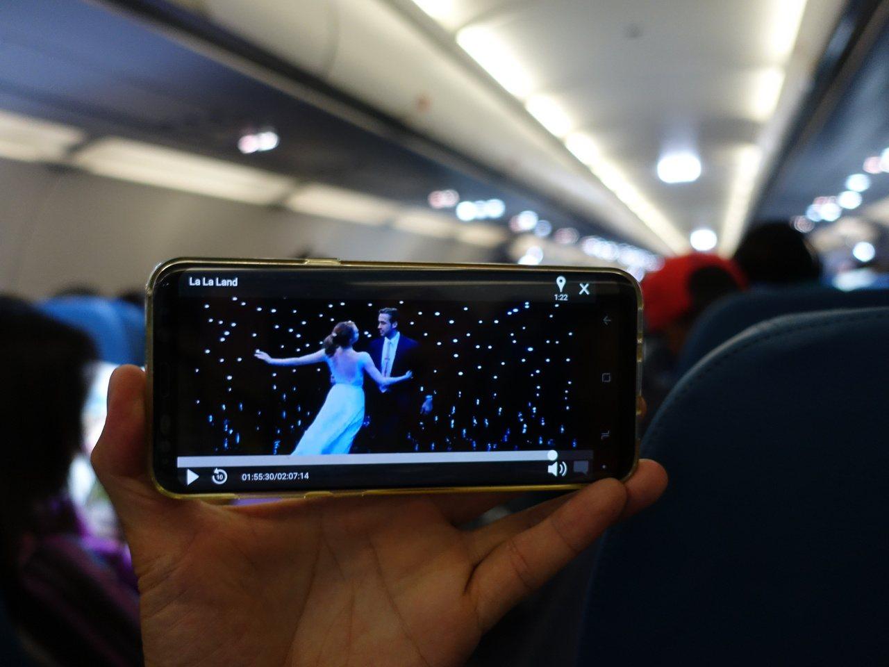 『菲律賓航空』讓人出乎意料的機上娛樂,可以用手機或平板結合APP「My Pal ...